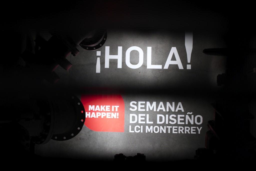 Curaduría y montaje de la semana del diseño y la fotografía de LCI Monterrey. Nave Generadores. Monterrey. México.
